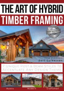 Art of Hybrid Timber Framing book cover
