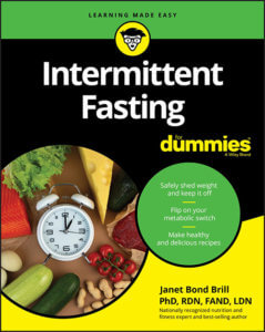 Intermittent Fasting for Dummies book cover