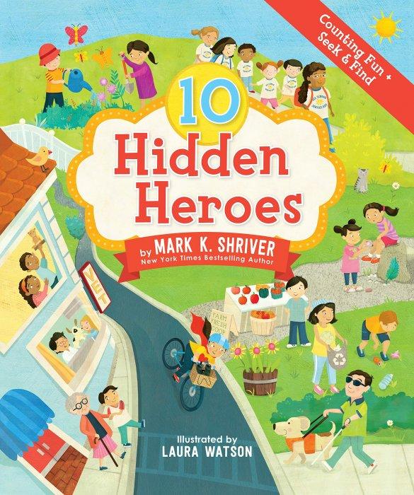10 HIDDEN HEROES book cover