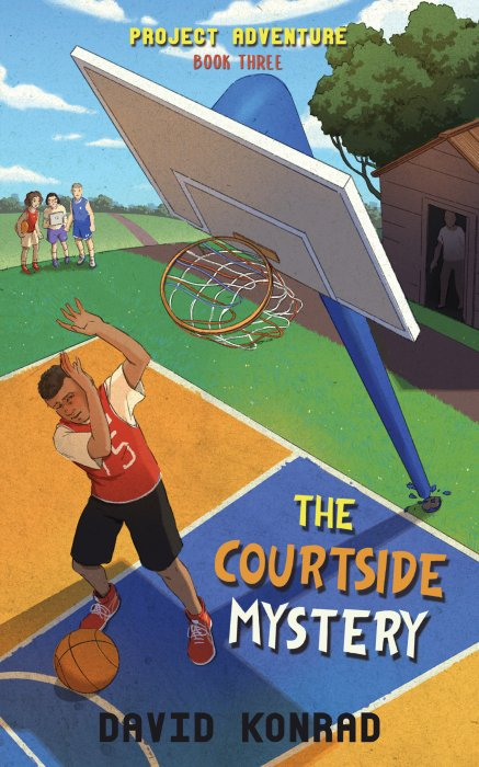 The Courtside Mystery book cover
