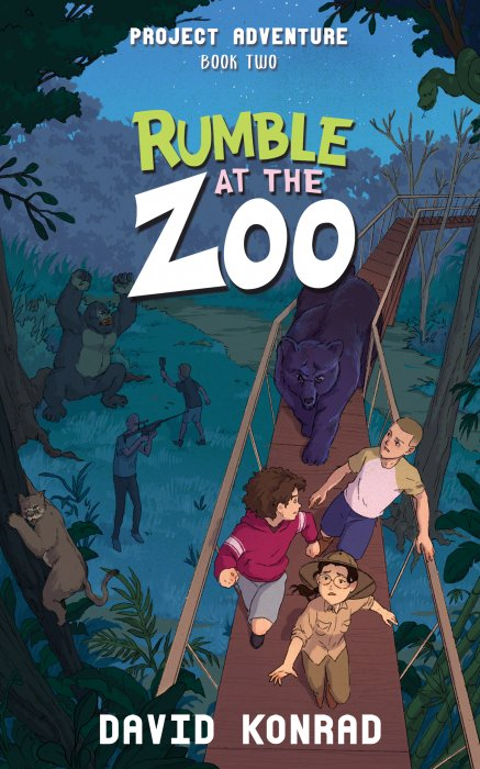 Rumble at the Zoo book cover